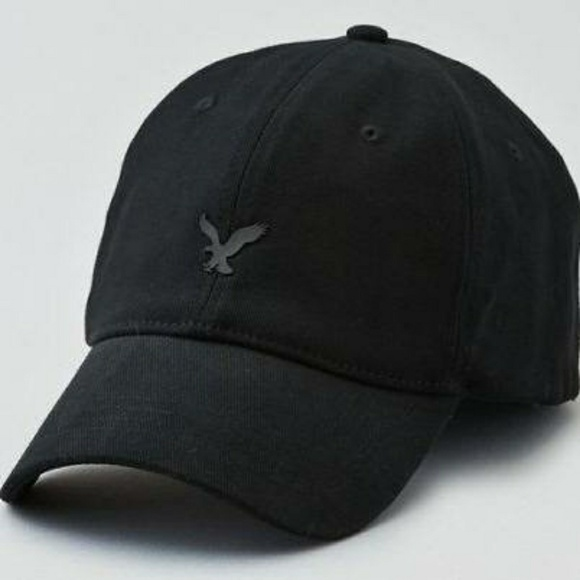 American Eagle Outfitters Accessories - AE Fitted Baseball Hat black S M 69475bd6d448